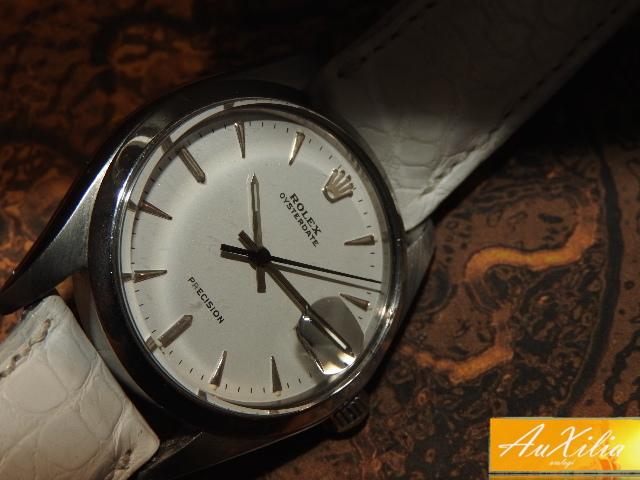 Rolex Precision quadrante bianco