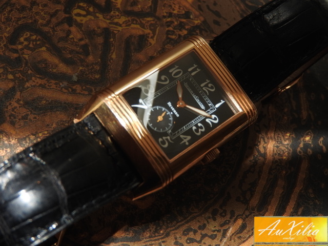 Jager LeCoultre Reverso Gran Taille oro rosa