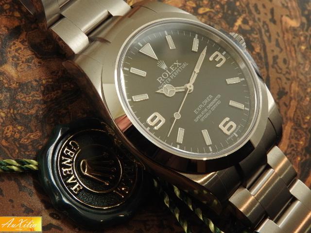 Rolex Explorer I Ref 214270 mai indossato