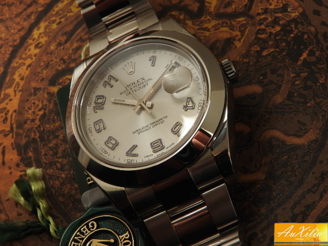 Rolex Date Just II mai indossato