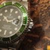 Rolex Submariner ghiera Verde seriale F